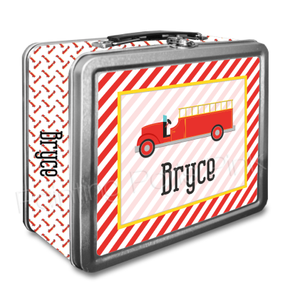 Firetruck with Wrap