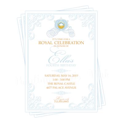 Royal Princess Invitation