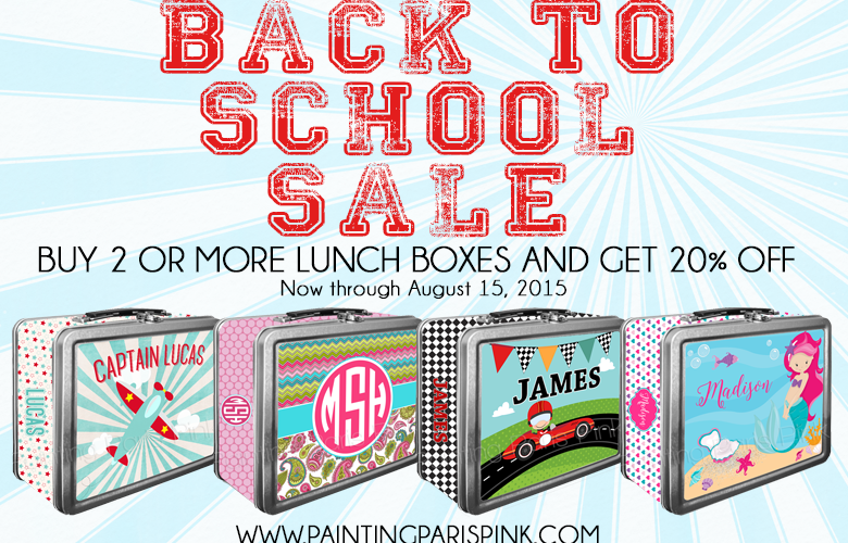 Back To School Lunch Box Sale